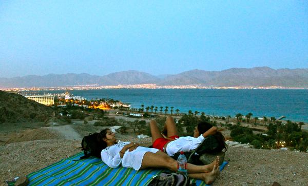 Eilat camping Israel