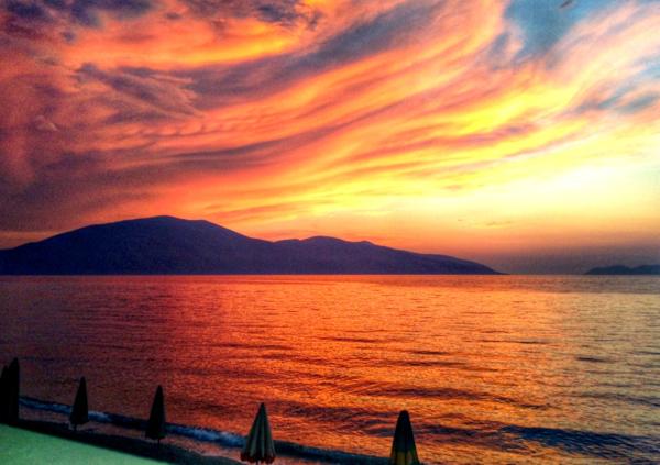 Sunset Vlora, Albania Albanian Riviera